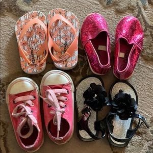 Converse baby size 5, assortment of shoes